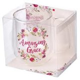 Mug Glass Amazing Grace_