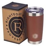Righteous Man Stainless Steel Mug - Proverbs 20:7_