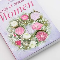 Devotional, Words of Jesus for women, softcover