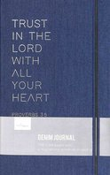 Denim Journal Trust in the Lord