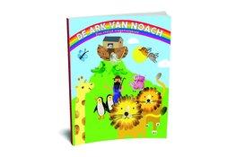 De Ark van Noach een vrolijk vingerverfboek