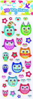 Owl Series - Puffy Stickers (set3)