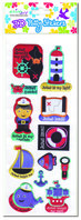 Lighthouse Puffy Stickers (3)