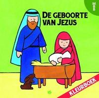 De geboorte van Jezus kleurboek