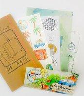 Biblejournaling craftpakketje 'Op reis'