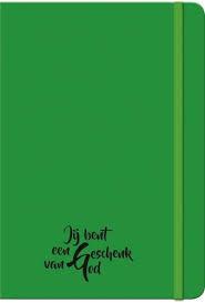 Journal neon groen Jij bent een geschenk van God