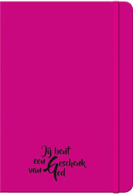 Neon roze boekje Geschenk van God