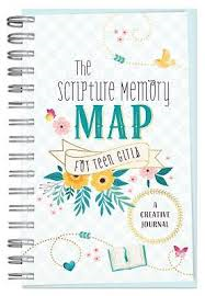 The Scripture Memory Map for Teen Girls : A Creative Journal