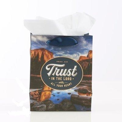 Trust in the Lord - klein cadeau tasje