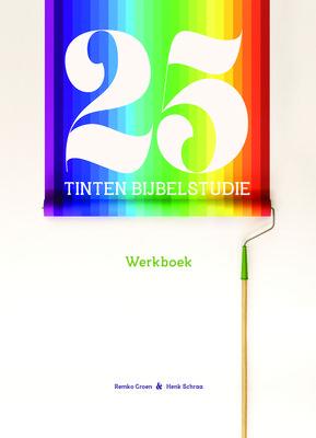 """25 tinten bijbelstudie â"""" werkboekje"""