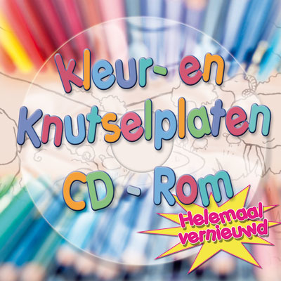 Kleur- en knutselplaten CD-rom