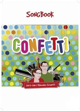 Confetti muziekboek