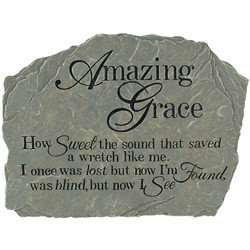 Amazing Grace - Tuin Steen