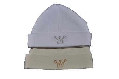 Babyhat White Silver Crown