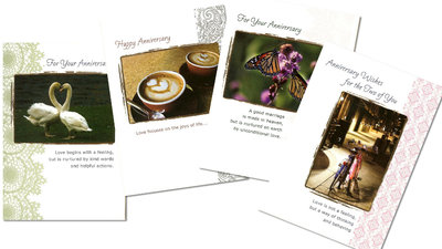 Love Languages - Anniversary Cards (set4)