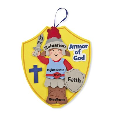 Knutselset Armor of God (set 3)