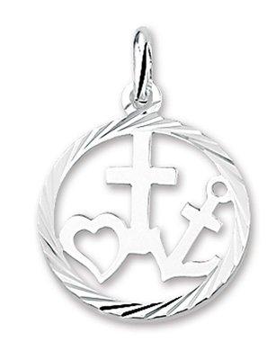 Hanger Geloof Hoop Liefde in cirkel