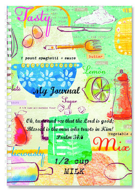 Kitchen - Softcover Journal