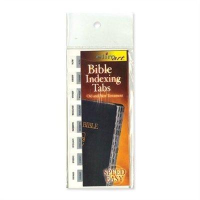 Bijbel Index Tabs Zilverkleurig Engelstalig