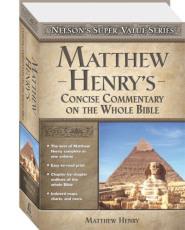 Henry, Matthew - New Matthew Henry Commentary