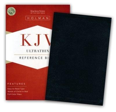 KJV Bible Ultrathin Reference Black