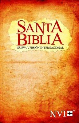 NVI Santa Biblia, Colour Paperback