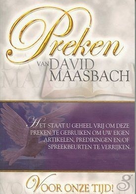 Preken van David Maasbach vol 1