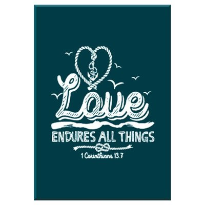 Kadobord Love Endures All Things