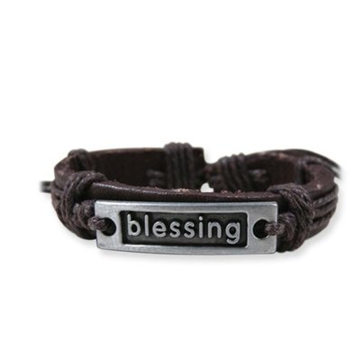 Armband Leer Blessing