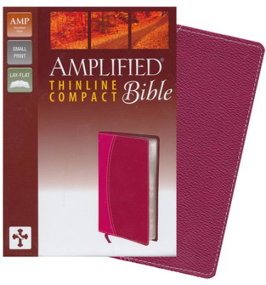 Amplified Thinline compact bible Italian Duo tone Magenta Razzleberry
