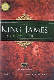 KJV King James Study Bible Burgundy