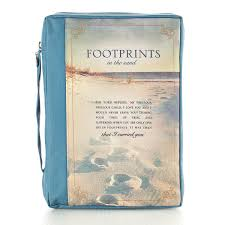 Bijbelhoes Medium Footprints