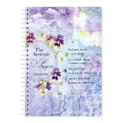 Journal Wire O bound Serenity Prayer