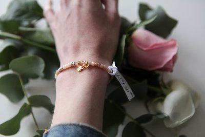 MR armband gouden hart
