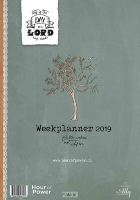 Weekplanner hour of power 2019
