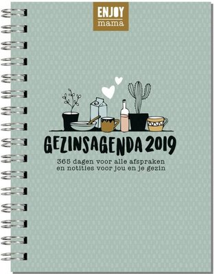 Enjoy Mama gezinsagenda 2019
