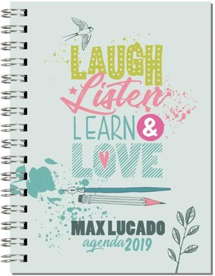 Laugh listen learn love Agenda 2019