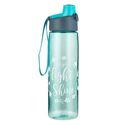 Water bottle Let your light shine