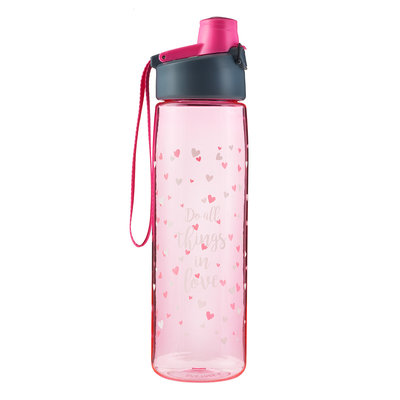 Water bottle Do all things in love