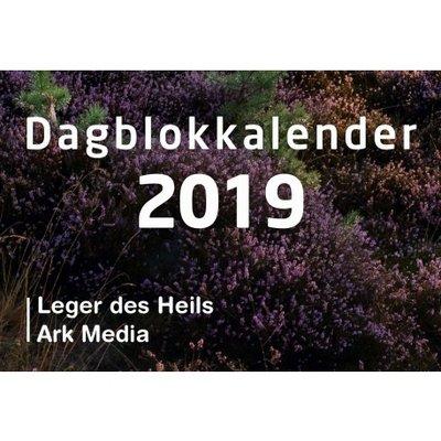 Dag in dag uit 2019 - dagblokkalender