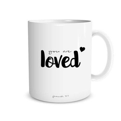 Mok Jeremiah 31:3 You are loved - Dagelijkse Broodkruimels
