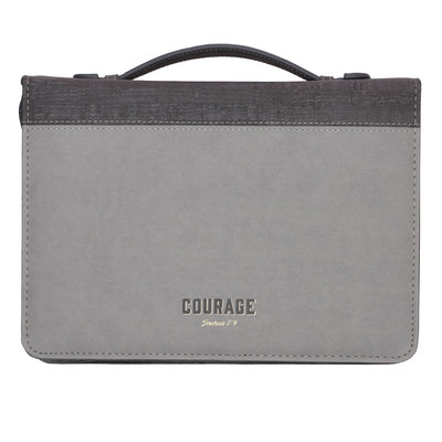 Bijbelhoes large 'Courage' luxleather