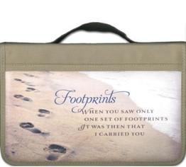 Bijbelhoes Footprints Large