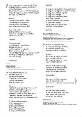 Opwekking 43 tekstaanvuling grote letter A4 nrs 820-831 PRE-ORDER