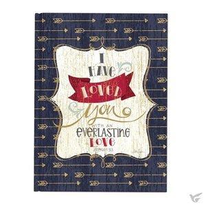 Casebound journal everlasting love