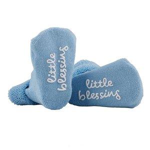 Baby sokken Little Blessing - Blauw
