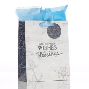 Cadeautas middel – Warmest wishes & blessings