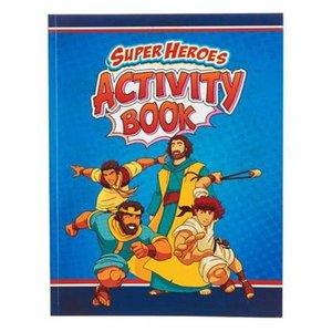 Activity Book Super Heroes