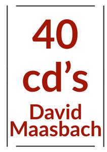 40 cd's van David Maasbach