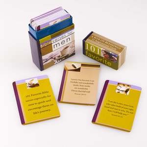 Boxes of blessings - fav bibleverses men